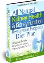 All Natural Kidney Health & Kidney Function Restoration Program